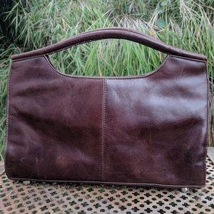 Aldo Brown Leather Clutch